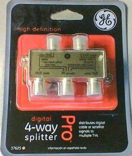 Digital 4 Way Splitter General Electric : Power Log Splitters : Patio, Lawn & Garden