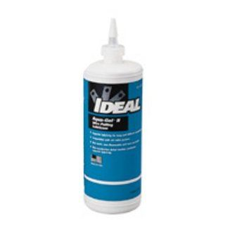 31 378   Ideal Aqua Gel II Cable Pulling Lubricant; 1 Qt. Squeeze Bottle: Power Tool Lubricants: Industrial & Scientific
