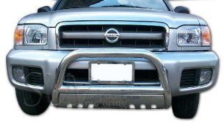 2001 Nissan Pathfinder Bull Bar w. Skid Plate Grille Guard Protection Stainless Steel Automotive