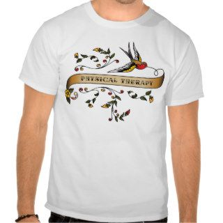 Swallow and Scroll with Physical Therapy Shirt