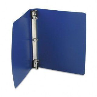 Wilson Jones Hanging DublLock Round Ring Binders, 1 Inch Capacity, 8.5 x 11 Inch Sheet Size, Blue, 12 Count (1 Case) (W390 14BLD)