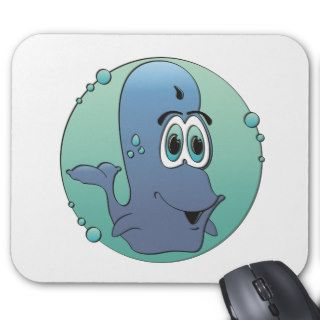 Cartoon Whale Mousepad