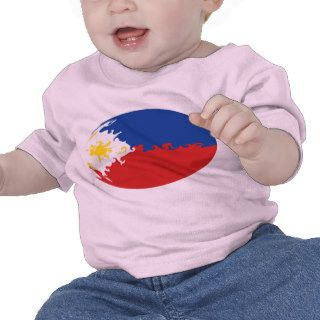 Philippines Gnarly Flag T Shirt
