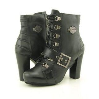 HARLEY DAVIDSON Sasha Black Boots Shoes Womens 8.5 HARLEY DAVIDSON Shoes
