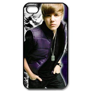 Justin Bieber protective case for iPhone 4/4s Cell Phones & Accessories