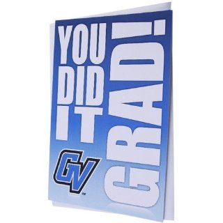 NCAA Grand Valley State Lakers Team Logo Graduation Card