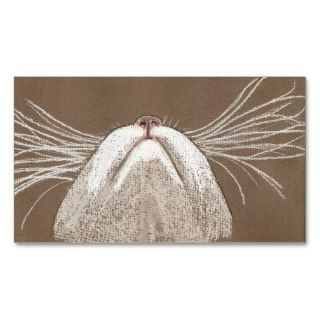 Just the cats whiskers business card
