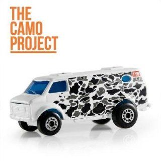 The Camo Project + Tyo Tyotoys Graffiti Art 1:64 Scale Diecast Matchbox Mini Van: Toys & Games