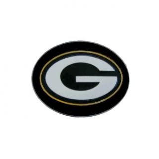 Green Bay Packers Logo Novelty Belt Buckle: Clothing