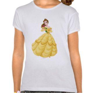 Belle Holding Rose Tee Shirt
