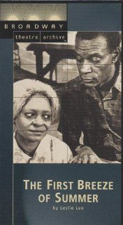 The First Breeze of Summer (Broadway Theatre Archive) [VHS] Ethel Ayler, Charles Brown, Bebe Drake, Frances Foster, Moses Gunn, Janet League, Barbara Montgomery, Lou Myers, Petronia, Reyno, Leslie Lee Movies & TV