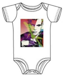 Billy Idol Color Baby Onesie Clothing