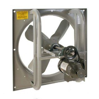 "Airmaster 42891 High Pressure Belt Drive Fan, Single Speed, Totally Enclosed, 3 Phase, 48"" Prop Diameter, 230/460V, 3HP Motor Industrial & Scientific"