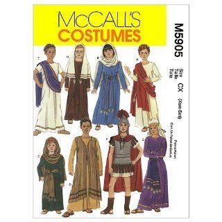 McCall's Patterns M5905 Children's/Boys'/Girls' Biblical Costumes, Size CZ (MED LRG XLG)