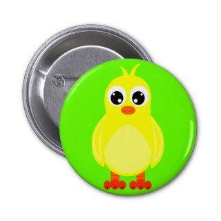 Cute Baby Chick Cartoon Pins