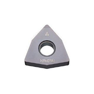 "Kyocera 432 80� Trigon / Negative Turning Insert; CBN Grade: KBN25C for general purpose machining of heat treated steels and stainless steels; I.C. Size: 1/2""; Thickness: 3/16""; Corner Radius: 1/32"" (1 Pack): Industrial & Scientific"