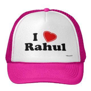 I Love Rahul Hat