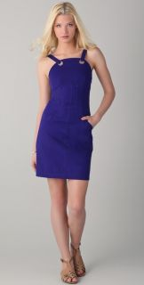 10 Crosby Derek Lam Sleeveless Dress with Grommet Detail
