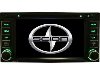"""Scion tC 2005 2011 In Dash Double Din 6.5"""" Touchscreen LCD Multimedia Navigation System Radio Mp3 iPod Aux SD USB CD DVD"""