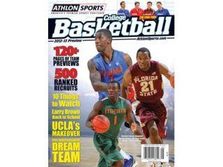 2012 13 Athlon Sports College Basketball Magazine Preview  Florida Gators/Florida State Seminoles/Miami Hurricanes Cover