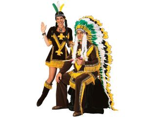 Adult Super Deluxe Indian Woman Costume   Native American Indian Costumes