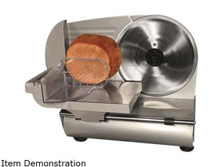 "WestonSupply 61 0901 W Stainless steel 9"" Meat Slicer (CE and GS Approved)"