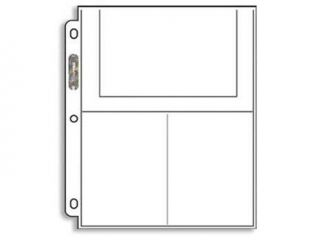 Ultra Pro 3 Pocket Pages (4X6)   100 Pages per box
