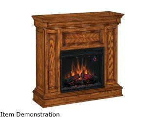 "ClassicFlame Phoenix 42"" Wide Corner Electric Fireplace (Oak) 23DM537 O107"