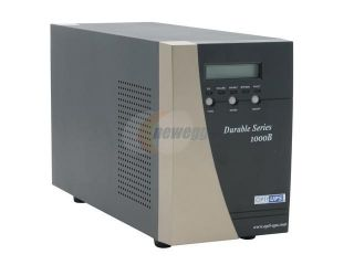 OPTI UPS Durable Series DS1000B 1000VA 700W True Online, Double Conversion, High Frequency Pure Sinewave UPS with AVR & Zero Transfer Time