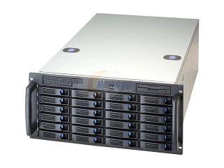 CHENBRO RM51924M R1350G Chassis 5U DP with 24 x H/S HDDs , Mini SAS BP and 3+1 1350W power supply, Ideal For Enterprise High Dense Storage Back Up Server