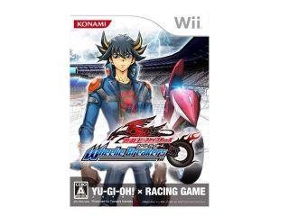 Yu Gi Oh! 5DS Wheelie Breaker Wii Game KONAMI