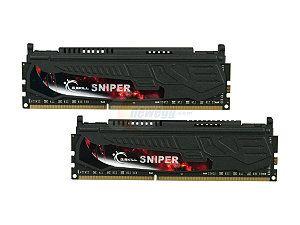 G.SKILL Sniper Series 8GB (2 x 4GB) 240 Pin DDR3 SDRAM DDR3 2133 (PC3 17000) Desktop Memory Model F3 17000CL11D 8GBSR
