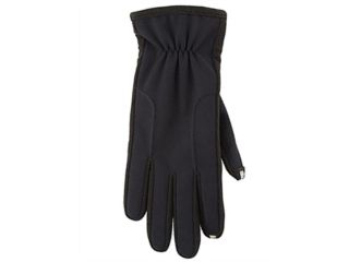 Isotoner Smart Touch Gloves Black Use Them With Your I Phone Size Womens M/L