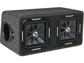 "NEW KICKER 11DS12L72 DUAL 12"" 3000W SUBWOOFER SUB BOX 3000 WATT"
