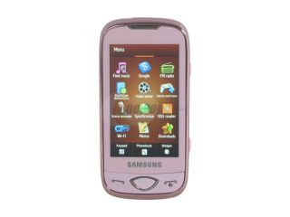 Samsung Marvel Pink Unlocked GSM Touch Screen Phone with 5MP Camera (S5560)