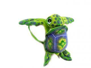 "Green Big Eye Sea Turtle Backpack 17"" by Fiesta"