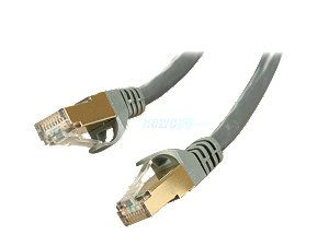 Rosewill RCW 10 CAT7 GE 10 ft. Cat 7 Grey Color Shielded Twisted Pair (S/STP) Networking Cable