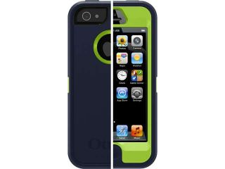 Otterbox Defender Series Case Iphone 5 (Admiral Blue / Glow Green)