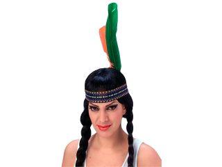 Native American Indian Girl Pocahontas Feather Headband