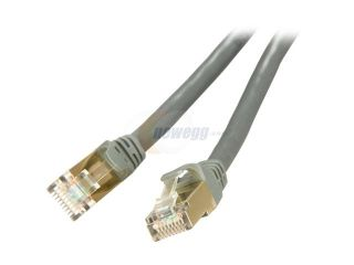 Rosewill RCW 25 CAT7 GE 25 ft. Cat 7 Grey Color Shielded Twisted Pair (S/STP) Networking Cable