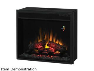 ClassicFlame Electric Fireplace Fixed Front insert with Backlit Display, with remote Black 23EF022GRA
