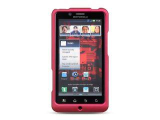 Motorola Droid Bionic/Targa XT 875 Hot Pink Crystal Rubberized Case