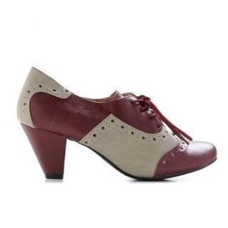 Chelsea Crew Susan Oxford Heels   Tan/White Shoes