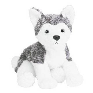 TY Beanie Baby   MUKLUK the Husky Dog (white eyes)