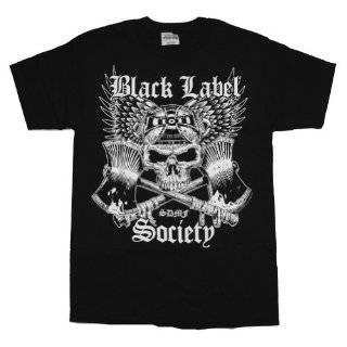 Heavy Metal T Shirt Bullhorn Logo Music Clothing